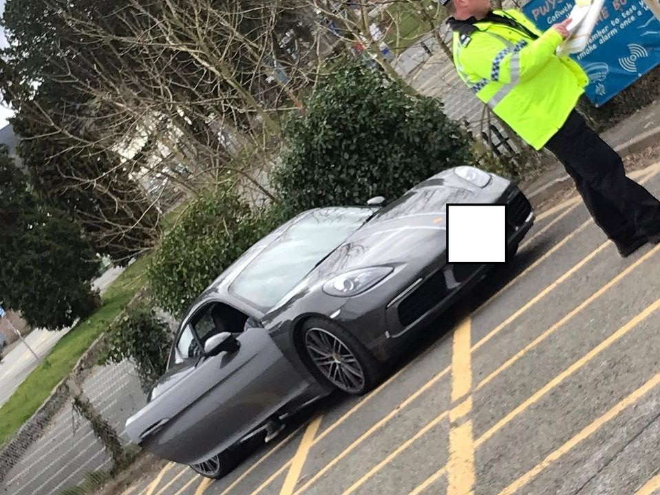 Shropshire driver who brought Porsche to North Wales 'for a spin' faces court action